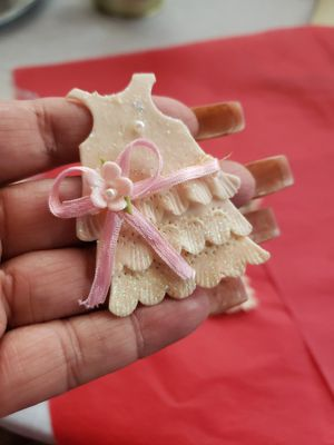 Little dress of acrylic for party favors for Sale in Riverside, CA
