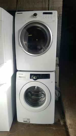 Samsung SET, Washer & GAS Dryer for Sale in Providence, RI