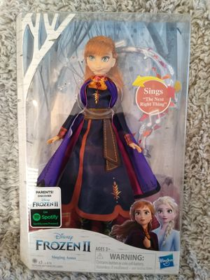 New Disney's frozen singing Anna doll shipping only no pickup for Sale in Apalachicola, FL