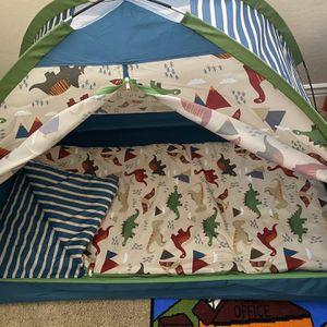 Dinosaur Child Size Tent & Sleeping Bag for Sale in Chandler, AZ