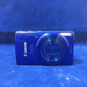 Canon Powershot Camera 10x Zoom Lens (Model: ELPH190IS) for Sale in Marietta, GA