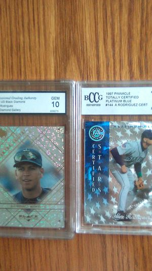 Alex Rodriguez Graded Perfect 10 2 Cards for Sale in Kissimmee, FL