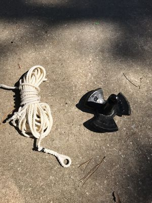 16 lb anchor with 50ft anchor line for Sale in Bella Vista, AR