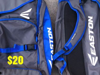 Softball bag in great condition equipped gear bats gloves Easton for Sale in Los Angeles,  CA