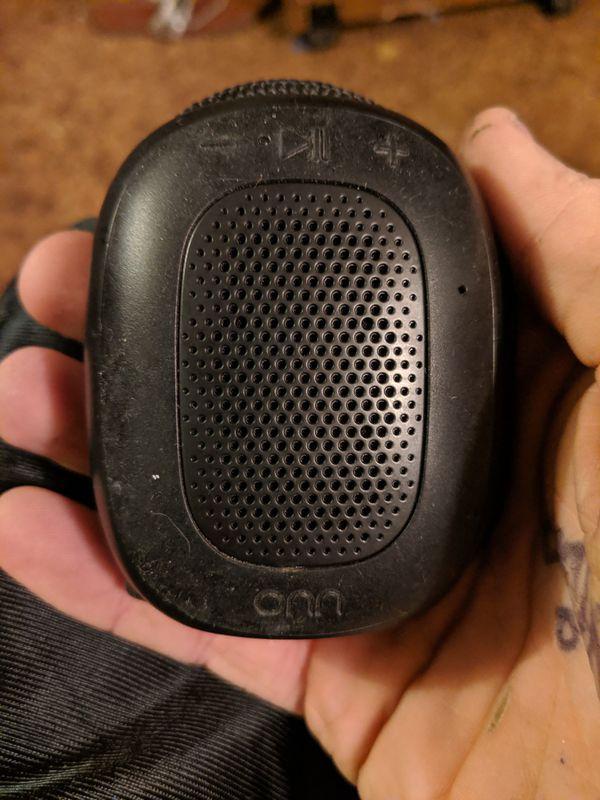 Onn Bluetooth speaker