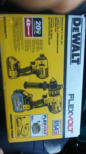 Dewalt flexvolt 60v hammer and impact drill kit for Sale in Fresno, CA