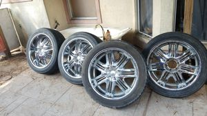 """22"""" rims Sell or Trade for Sale in Katy, TX"""