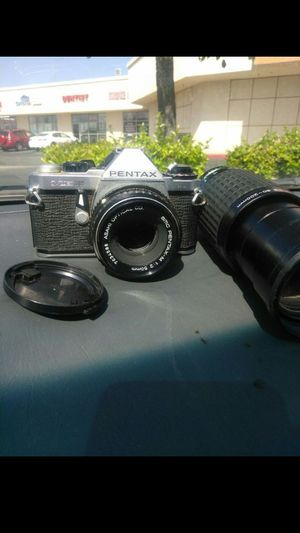 Pentax super me with 2 lenses for Sale in El Monte, CA