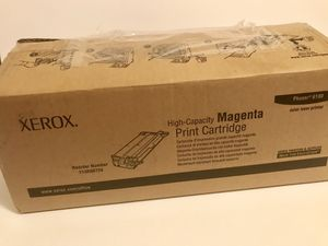 XEROX 113R00724 High Capacity Magenta Toner Cartridge For Phaser 6180 for Sale in Los Angeles, CA