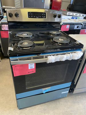 New! GE Stainless Steel Electric Coil Top Range! 1 Year Manufacturer Warranty Included for Sale in Gilbert, AZ