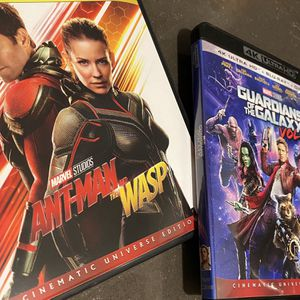 Ant-Man & The Wasp/Guardians of The Galaxy Vol. 2 for Sale in Azusa, CA