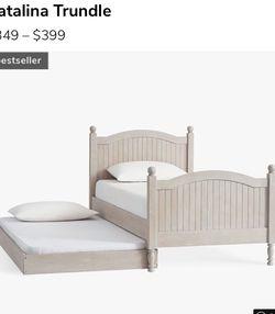 Pottery Barn Kids Trundle Bed for Sale in Davidsonville,  MD