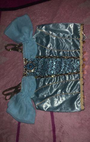 Disney Store Costume Jasmine Top Size 9/10 T for Sale in Bloomington, CA