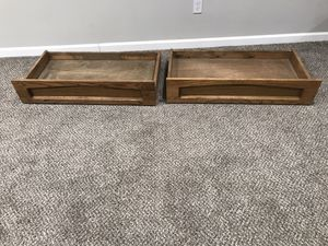 Oak Under Futon/Bed Drawers - Storage for Sale in Town and Country, MO