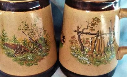 Marzi and Remy Vintage Beer Stein Tankard Hunting Scene excellent condition- for Sale in Macedonia,  OH