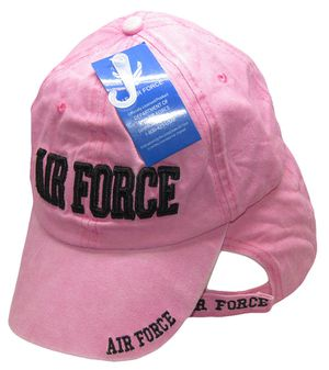 U.S. Air Force Letters Pink Embroidered Cap for Sale in Lakeland, FL