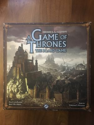Game of Thrones The Board Game 6 players for Sale in Whittier, CA