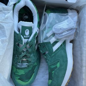 BAPE x Undefeated x Adidas ZX 8000 - Mens Shoes - Green Camo - Size 6.5 for Sale in Laurel, MD