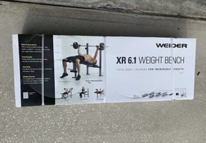 WEIDER XR 5.9 Adjustable Slant Workout Bench NEW IN BOX for Sale in Santa Maria, CA