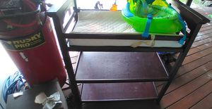 Free. Baby changing table and baby Bath pan and food table for Sale in Miramar, FL
