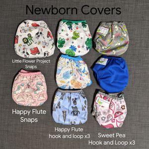 Cloth Diaper Destash - (One Size & Newborn) AIO, pockets, covers, prefolds, misc for Sale in Mesa, AZ