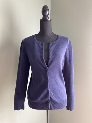 NEW navy cardigan for Sale in Bristow, VA