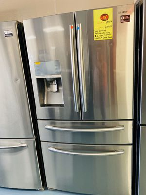 New Samsung 4 Door Refrigerator Payment Option Available for Sale in National City, CA