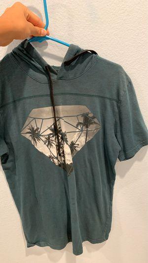 Blue short sleeve is men's XS. Gray vans shirt is Kids XL. Vans red long sleeve is Men's XS. for Sale in La Verne, CA