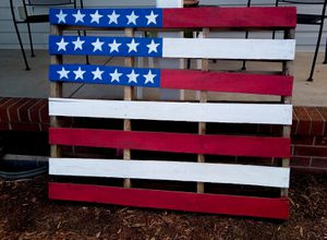 American Flag Pallet Sign for Sale in Anderson, SC