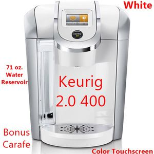 Keurig K400 2.0 Touchscreen Coffee Maker, White for Sale in Landover, MD