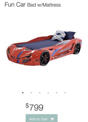 Twin Car Bed for Sale in Miami, FL