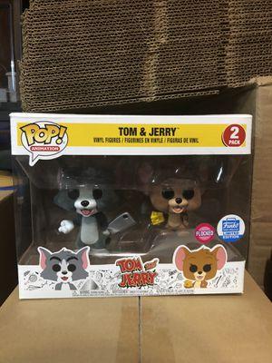 Funko pop Tom & Jerry 2pk Flocked for Sale in Linden, NJ