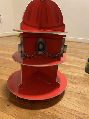 Fire hydrant cupcake stand for Sale in Washington, DC
