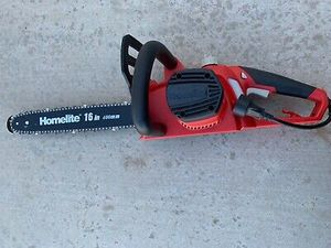 Homelite 16 in. 12 Amp Electric Chainsaw Tool-less Chain UT43123 -USED for Sale in Los Angeles, CA