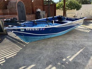 1982 12' Aluminum Valco Mini Bass Boat for Sale in Santa Rosa, CA
