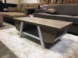Coffee Table, Dark Taupe & White, #161821 for Sale in Santa Fe Springs, CA