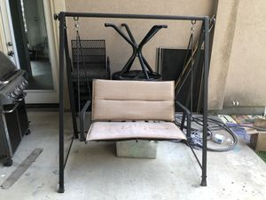 Outdoor porch swing for Sale in Spring, TX
