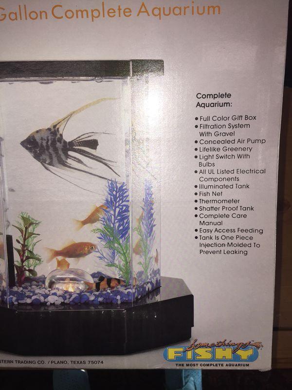 The most complete aquarium somethings fishy