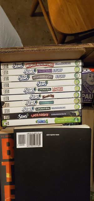 Sims PC games bundle for Sale in Springfield, OR