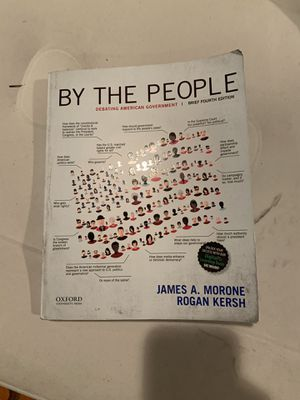 """By the people"" history college textbook for Sale in Everett, WA"