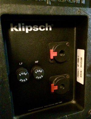 Klipsch KP-3000-C Speakers and Amp for Sale in Brandon, FL