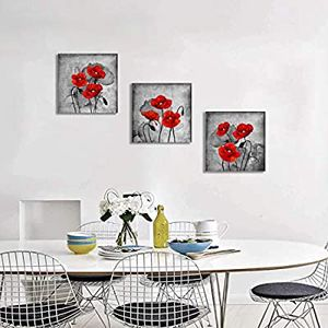 Red Flower Wall Art for Sale in Queens, NY