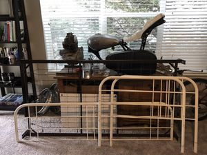 Twin bed frame with mattress for Sale in Hillsboro, OR
