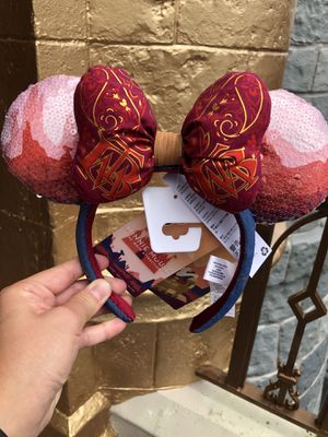 Minnie Mouse: The Main Attraction Ear Headband for Adults – Big Thunder Mountain Railroad – Limited Release IN HAND. SOLD OUT for Sale in Orlando, FL