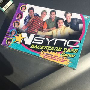 *Nsync Bachstage Pass Game for Sale in Orange, CA