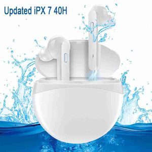 true wireless earbuds,ipx7 waterproof 40H cycle playtime bluetooth headphones, Bluetooth 5.0 wireless earphones with deep Bass Hifi sound for Sale in Queens, NY