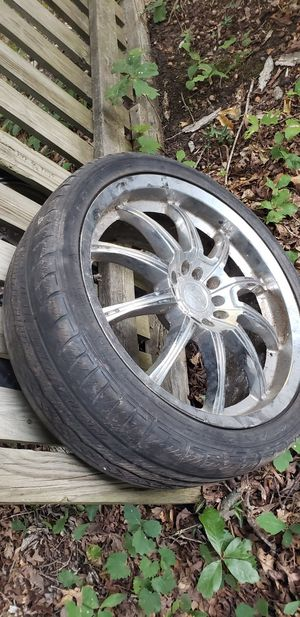 "18"" chrome rims for Sale in Midlothian, VA"