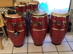 Congas y bongos Galaxy Fausto cuevas 3 for Sale in Coral Gables, FL