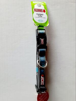 "NEW KONG PREMIUM REFLECTIVE,PADDED DOG COLLAR. SMALL 10""- 14"" NECK. BLUE. for Sale in Kingman, AZ"