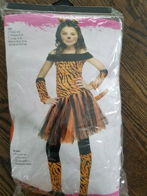 Tigeress costume fits for girls from 4 to 10 y. for Sale in Skokie, IL